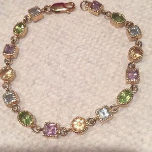 Jewelry - Vermeil Semi-precious bracelet